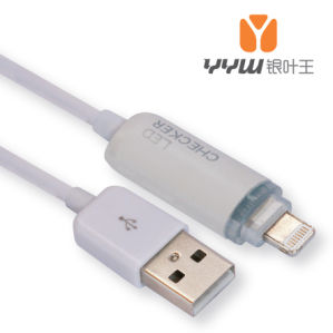 8pin USB to Lightning Cable for iPhone5/5s Wiht LED Light
