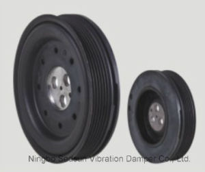 Torsional Vibration Damper / Crankshaft Pulley for Ford 1594853 pictures & photos