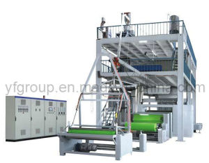 PP Non Woven Fabric Extrusion Line for Making Nonwoven Rolls (YF-S1600)