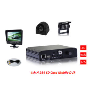 H. 264 Advanced D1 Mobile DVR Mini Car DVR Support 4G SD Card pictures & photos