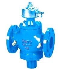Epoxy Coating Ductile Iron Self-Operated Balance Valve pictures & photos