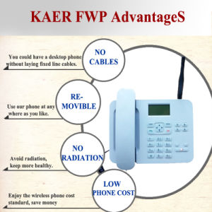 3G WCDMA Landline Phone (KT1000(135)) pictures & photos