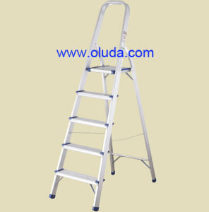 Household Alu Ladder--Comply to En131