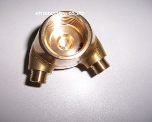 Europe Standard Welding Machine Use Brass Forging Part pictures & photos