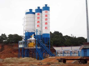 HZS60 Stationery Concrete Mixing Plant