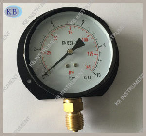 63mm Black Steel Dry Manometer pictures & photos