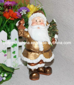 Resin/Polystone/Polyresin Christmas Statue for Gifts pictures & photos