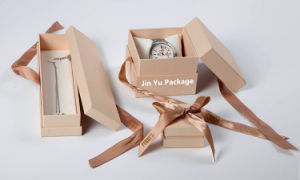 New Arrive paper Gift Jewelry Boxes with Silk Ribbon pictures & photos