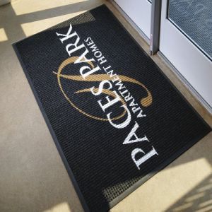 Custom Logo Promotional Rubber PVC Polyester Indoor Outdoor Welcome Entrance Customized Personalized Promotion Printed Doormats Floor Door Mats pictures & photos
