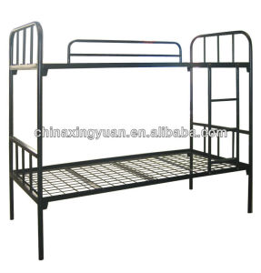 China Factory Offer Strong Structure Two Layer Kd Steel Bunk Beds