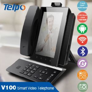Professional Fixed Desktop Smart Video GSM Phone with Android System