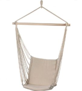 Cotton Padded Swing Hammock Chair/with Hardwood Spread Bar/Chc00005 pictures & photos