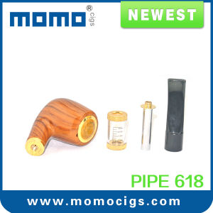 21USD! Hot Selling Best Quality E Pipe E Cigarette, Wood E Pipe 618