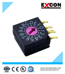 Dial Rotary Switch DIP Switch with High Rating