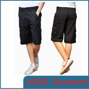 Men Black Short Demin Bermuda Jeans (JC3025) pictures & photos