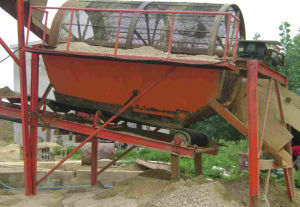 Cylinder Sand Screener with High Capacity!