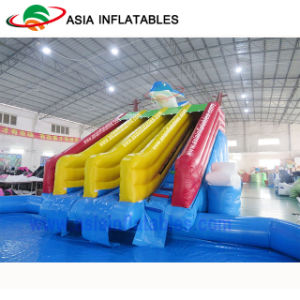 Hot Summer Inflatable Giant Mobile Water Park Site, Inflatale Backyard Water Park pictures & photos