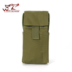 Hunting Airsoft Molle Tactical Military 25 Round 12 Ga Gauge Shotgun Reload Magazine Pouch Bag pictures & photos