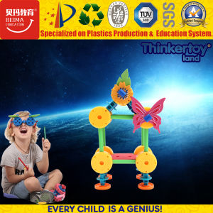 < Thinkertoy>Preschool Plastic Construction Toy ABS EVA Building Block Set Toys pictures & photos