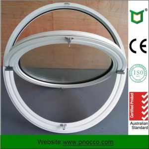 China Aluminium Profile Round Window With Glass For Sale