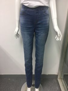 8d8dedd5fa 2018 Factory Elastic Waist Stretch Women/Ladies Skinny Denim Jeans.