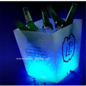 Custom Acrylic Beer Square Ice Bucket pictures & photos