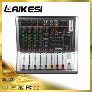 High Quality 4 Channel DJ Mixer with 99DSP/4 Channel Audio Mixer