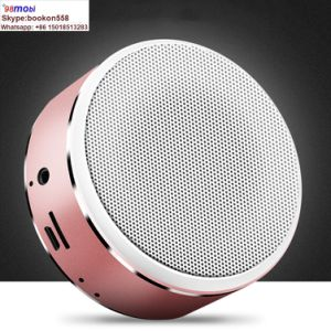 A8 Mini Portable Wireless Metal Shell Bt4.2 Stereo Bluetooth Speaker