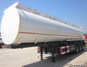 Manufacture Tongya 3 Axles Fuel Tanker Truck Trailer