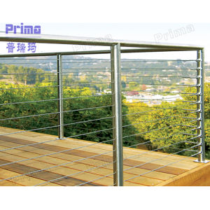 Exterior Stainless Cable Railing (PR-B1108) pictures & photos