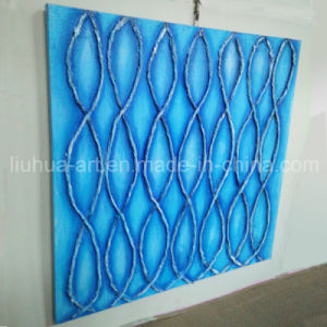 Blue Rope Framed Oil Paintings Best Quality for Wall Decoration (LH-197000)