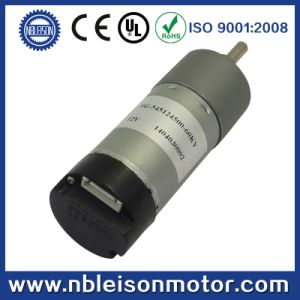 CE RoHS 12V 24V DC Gear Motor with Encoder