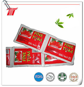 High Quality and Wholesale Fine Tom Brand Sachet Tomato Paste pictures & photos