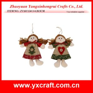 Christmas Decoration (ZY16Y134-3-4 20.5CM) Christmas Smile Angel Christmas Bunting pictures & photos
