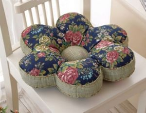 Flower Shape Seat Cushion Decor Cushion