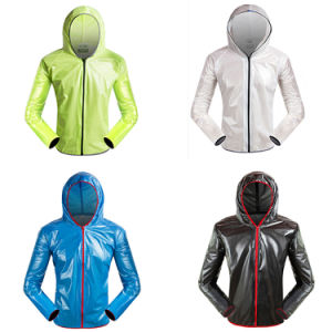 High Quality Cycling Rain Jacket pictures & photos