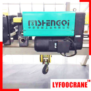 Double Speed Electric Wire Rope Hoist pictures & photos