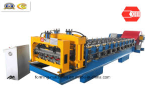 Colored Steel Roofing Tile Forming Machine (YX18-200-800) pictures & photos