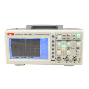 25MHz Dual Channels USB Oscilloscope From China