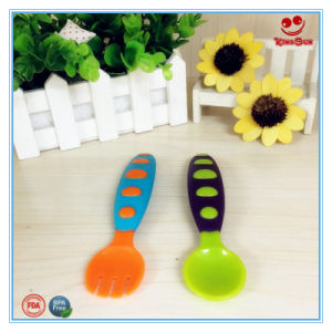 High Quality Plastic Baby Spoon Gift Set pictures & photos
