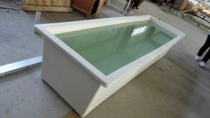 Glassfibre Fiberglass FRP GRP Customized Size Breeding Fish Tank pictures & photos
