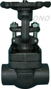 API Forged Steel Socket Welding Gate Valve pictures & photos
