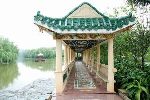 Chinese Style Roof Tiles Pavilion Roofing Material for Garden Pagoda