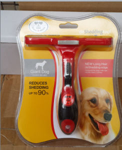 OEM Professiomal Pet Deshedding Tool Dog Deshedding Brush