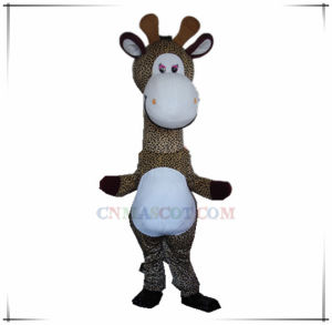 Lovely Giraffe Mascot Costume Good for Party Use