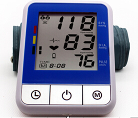 70mm*76.5mm LCD Display Blood Pressure Meter pictures & photos
