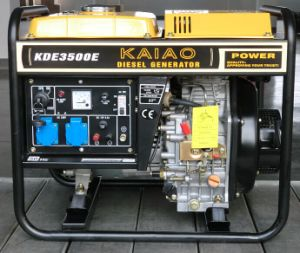 3kVA Open Frame Generator Both Manual Start and Recoil Start Factory Price!