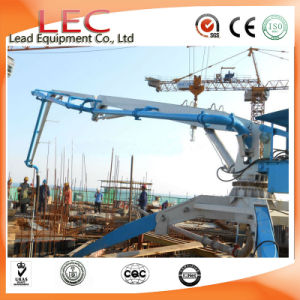 Building Equipment China Manufacturer Placing Radius 13m 15m 17m 18m Mobile Hydraulic Concrete Pouring Placing Boom for Sale pictures & photos