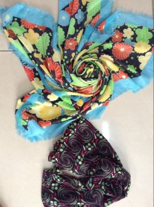 Fashion Polyester Voile Fabric for Headscarf