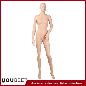 European Style Female Fiberglass Mannequin for Window Display